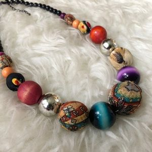 Artsy Beaded Necklace